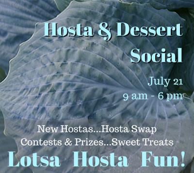 2018 Hosta & Dessert Social