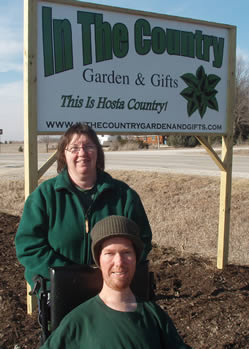 Josh and Sue Spece - owners of In The Country