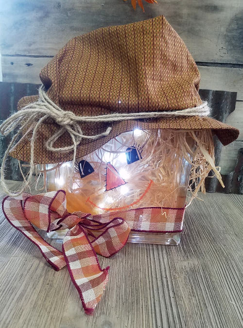 Lighted Scarecrow