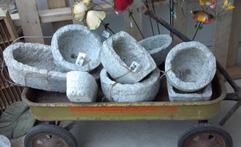 Papercrete troughs