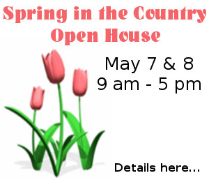Spring Open House - May 7 and 8, 2016