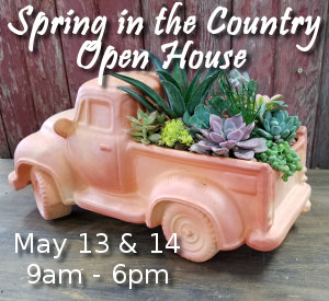 Spring Open House - May 13 and 14, 2017